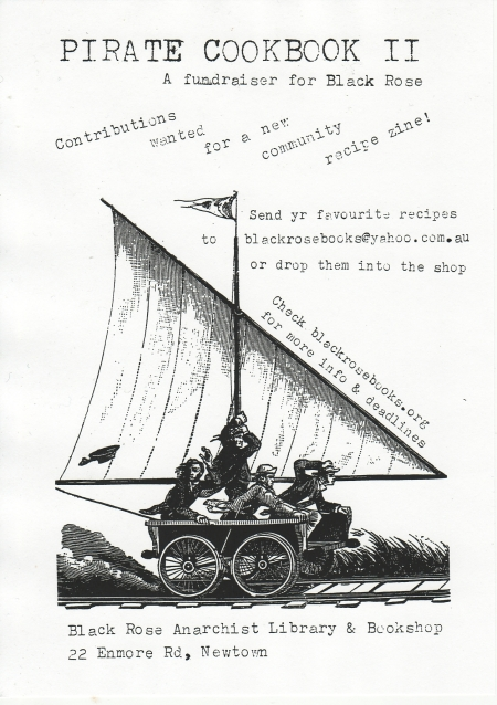 Pirate cookbook Flyer